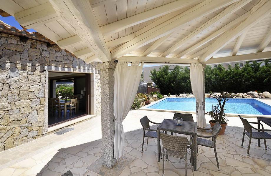 La piscina la villa dei graniti affittacamere - Villa dei sogni piscina ...